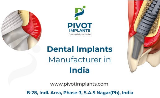 Dental Implants Manufacturers in India