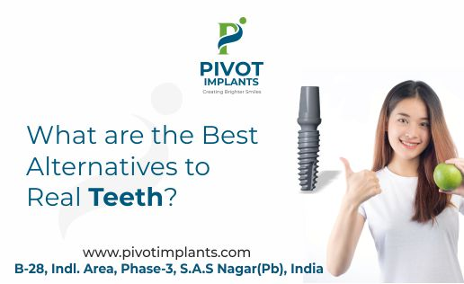 What are the Best Alternatives to Real Teeth - dental implant manufacturers